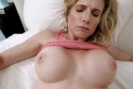 Fucked my Hot Step Mom while She Got Stuck Making the Bed – Cory Chase