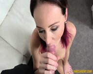 Redhead Girl Fucked At Casting