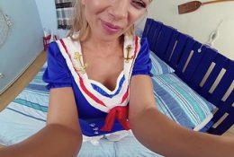 Czech VR 368 – Horny Slut in Blue
