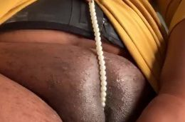 Indian babe Plays with her milky pussy closeup
