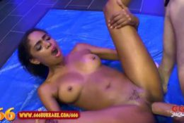 Lovely Latina Luna Corazon is Kinky for Footjob And Golden Shower