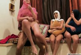 Milf house party Hot arab dolls try foursome