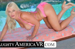 Naughty America – London River gets what she wants and ends up fucking you in her home