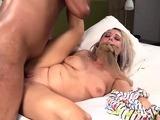 Slut Housewife Gets Surprise Dark Dick and Loves it!