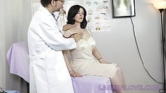 Son Watches Mom Being Molested by the Doctor
