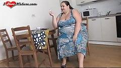 Cecile, hot mature ssbbw gets fucked