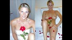 Dressed undressed Brides Slideshow #3