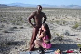 Adorable Mature Sofie Marie Blows Dick Before Interracial Pounding