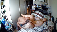 Big Tit Russian MILF multi-orgasm being licked out.