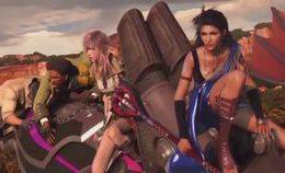 Final Fantasy Xiii The Movie Marathon Edition (all Cuts…