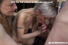 Grandmams Love Cum