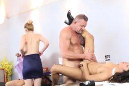 Teen hd big tits rides cock and skinny feet anal Bring