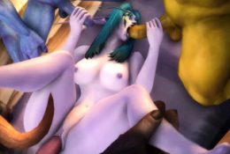 World of Warcraft Bitches with Petite Cunt – Collection