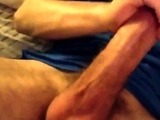 Jerking Off My Thick 20 Year Old Throbbing Cock
