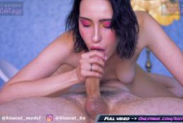 I will Lick and Suck your Dick until you Cum in Mouth – Sensual Blowjob / Kiss Cat