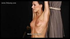 Mature Secretary moans in pain when she is punished