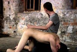 Homo lad enjoys a fetish scene