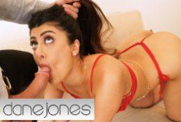 Dane Jones Sexy Indian babe Marina Maya romantic sex in skimpy red lingerie