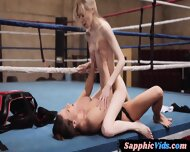 Busty Dyke Pussylicking And Strapon Fucking Girlfriend